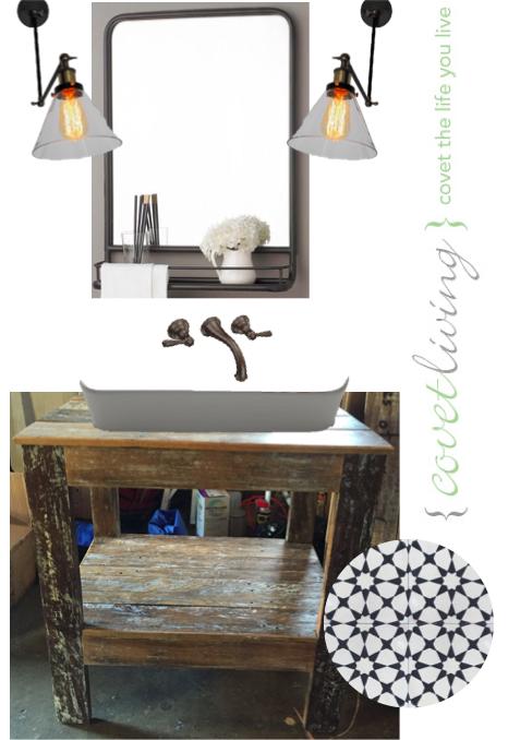 Library Light Sconces, Powder Room | Covet Living