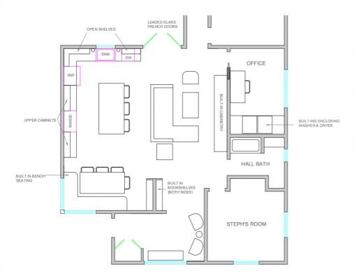 Layout #3 | Casa Karrie & Tim | Covet Living