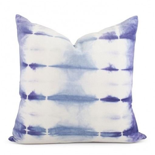 Shibori Velvet Tie Dye Pillow