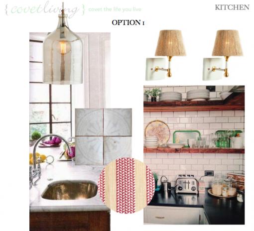 Casa Covet Living Remodel: KITCHEN OPTION 1