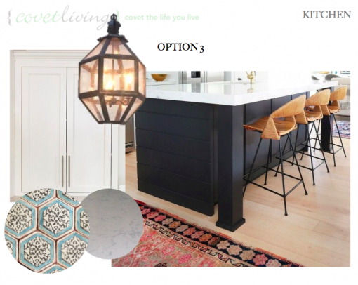 Casa Covet Living Remodel: KITCHEN OPTION 3