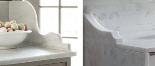Marble Vanity Corner Detail | Casa Covet Living
