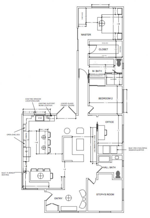 Casa Covet Living | Floorplan by Stephanie Ballard
