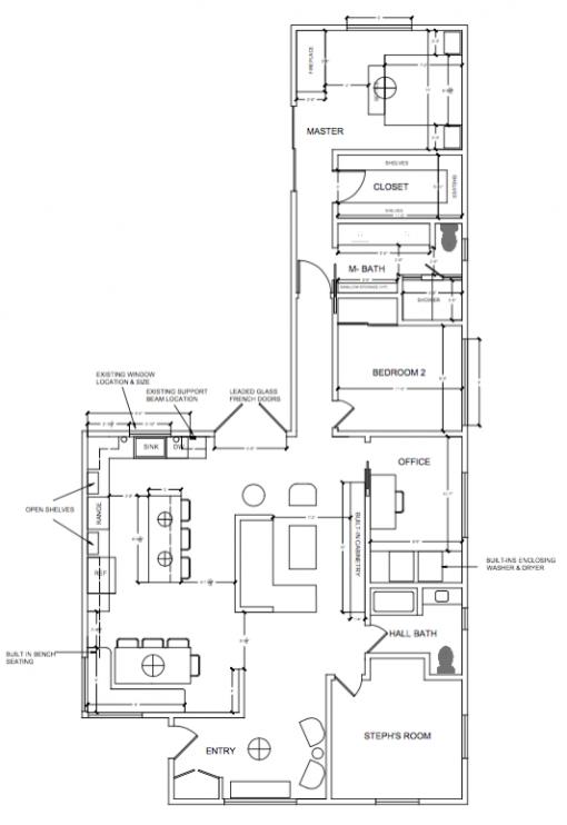 Casa Covet Living | Floorplan by Stephanie Ballard