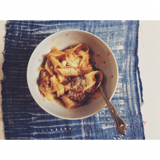 pappardelle with lamb rage | covet living