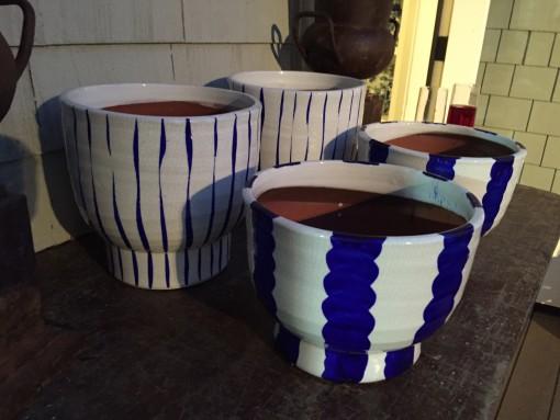 Perfect Blue & White Pots | Bixby & Ball | Covet Living