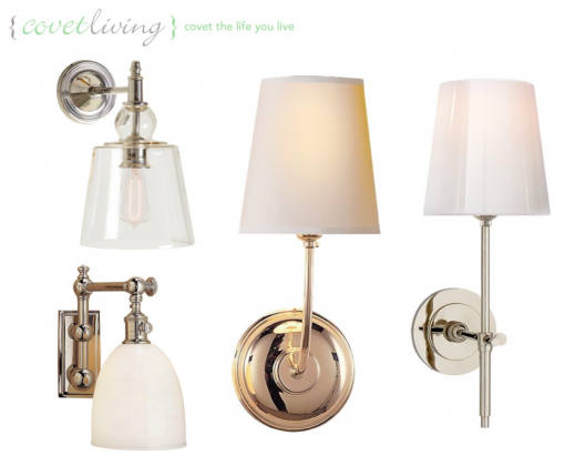 Casa Covet Living | Master Bath Sconces