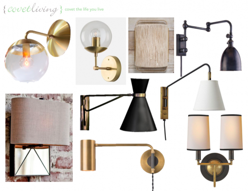 Casa Covet Living | Master Bedroom Sconce Contenders