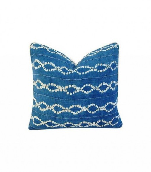 chairish blue pillow | covet living