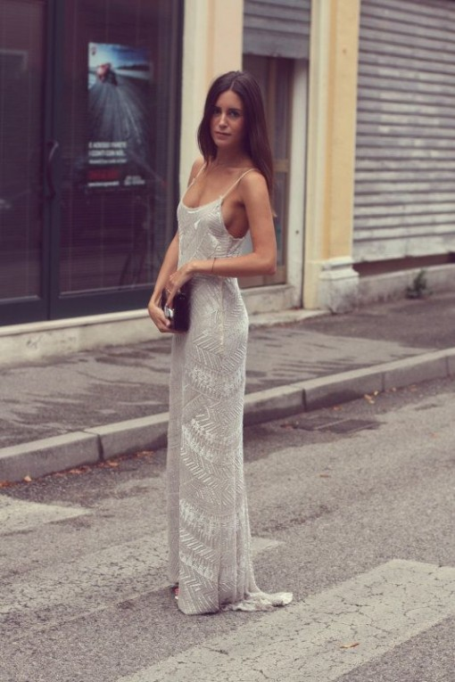 simple sequin dress | covet living