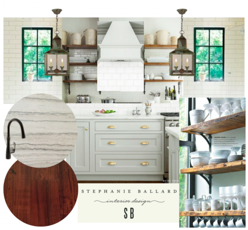 Ohio Modern Farmhouse Kitchen | Stephanie Ballard Interiors