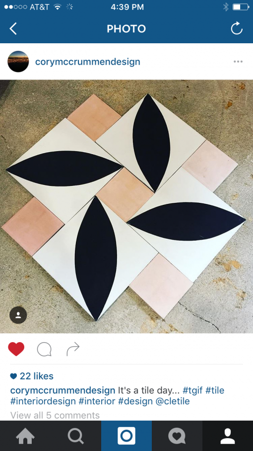 tile cory mccrummen design | covet living
