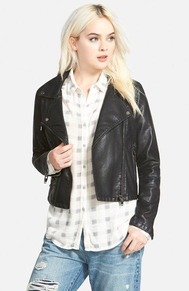 BlankNYC Faux Leather Jacket | Covet Living