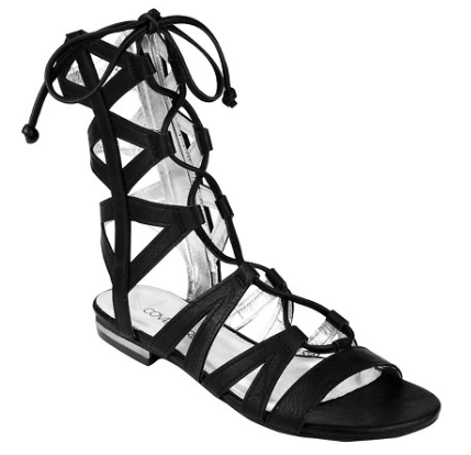 Covet Girl Courtney Mid-Calf Ghillie Sandal | Target Tuesdays | Covet Living