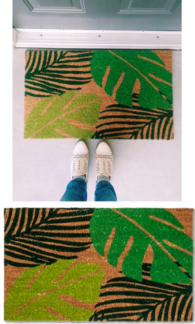 Palm Fronds Doormat - Target Tuesday - Covet Living
