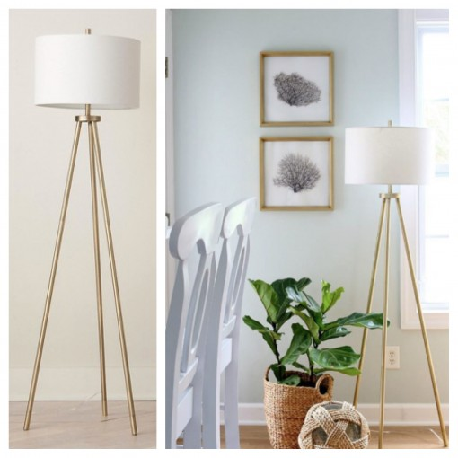 Tripod Floor Lamp | Target Tuesdays | Covet Living