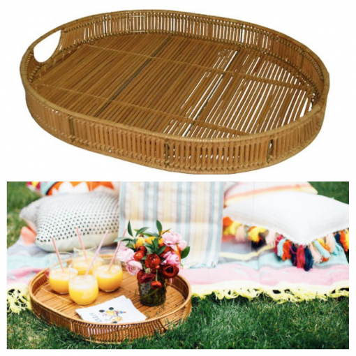 Target Linear Weave Oval Tray - Target Tuesday - Covet Living