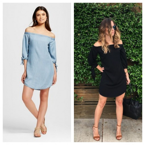 Women's Off Shoulder Dress | Target Tuesday | Covet Living