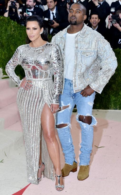 Kim and Kanye | Met Gala | Covet Living
