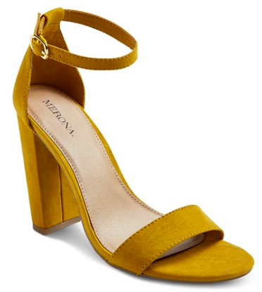 Lulu Block Heeled Sandals | Target Tuesdays | Covet Living