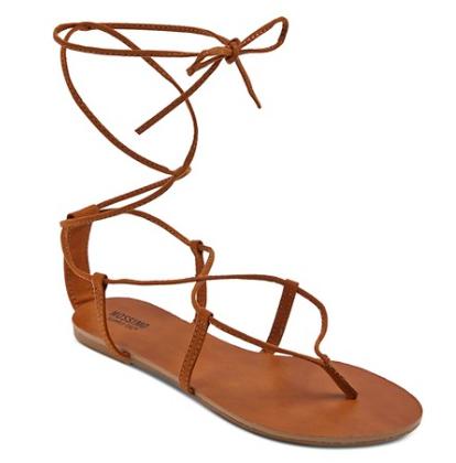Mabel Gladiator Sandals in cognac | Target Tuesdays | Covet Living