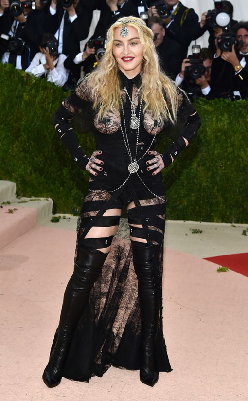 Madonna Amy Schumer | Met Gala | Covet Living