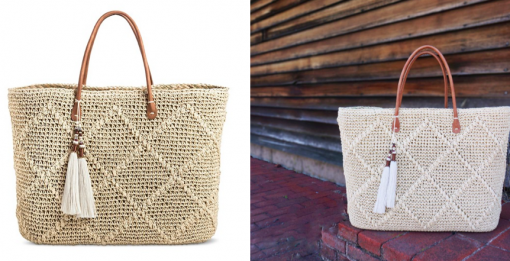 Natural Structured Tote | Target Tuesdays | Covet Living