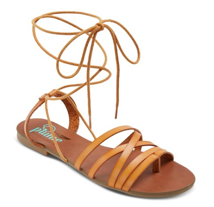 Plume Mason Woven Front Lace Up Sandal | Target Tuesdays | Covet Living