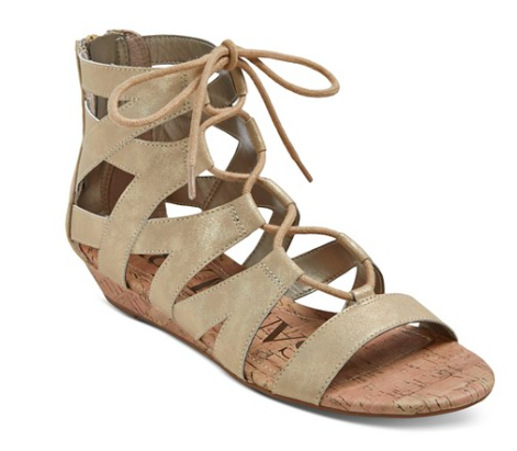 Sam & Libby Arianna Gladiator Sandals | Target Tuesdays | Covet Living