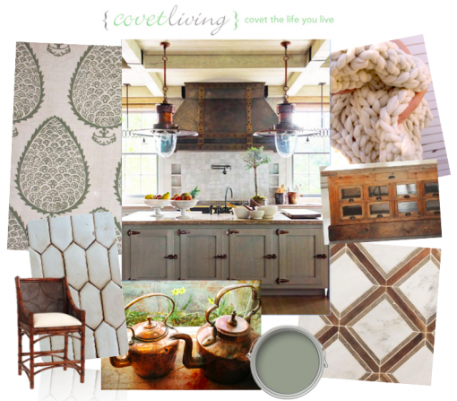 Mood Board: Project Bright Copper Kettles | Covet Living Interiors