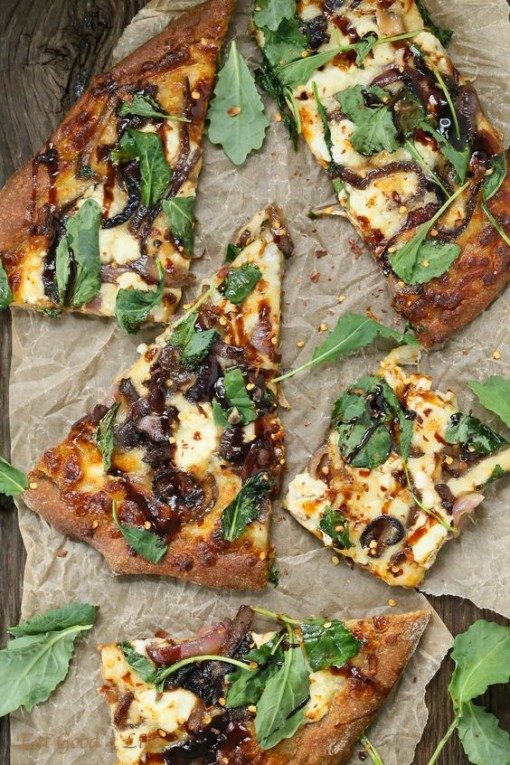 Carmelized Onion Goat Cheese Pizza | Covet Living