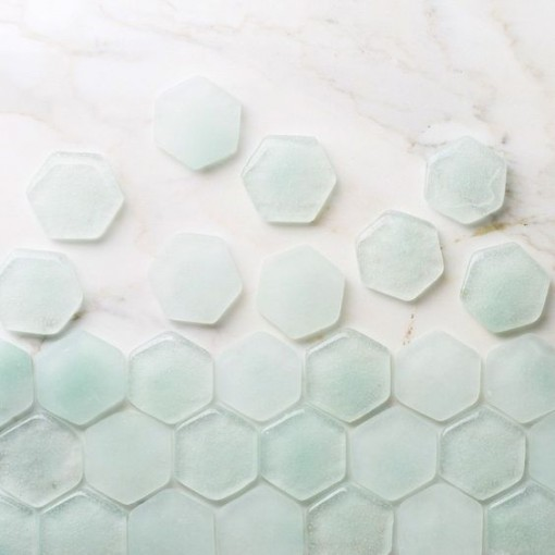 Dew Drop Hex Tile | Covet Living