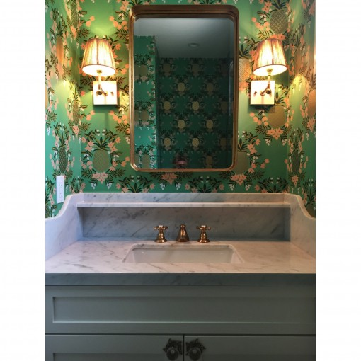 hall bath | stephanie ballard interiors | casa covet living