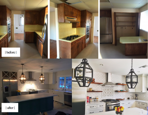 Before & After | Interior Design: Stephanie Ballard | Casa Covet Living
