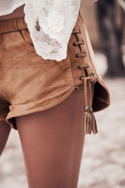 Tassel Shorts | Covet Living