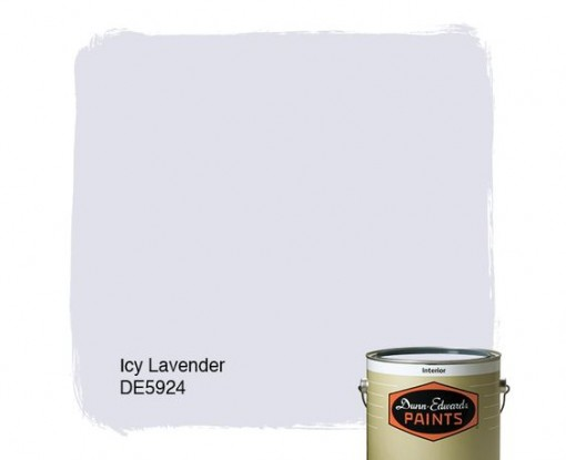 Wall Color, Casa Covet Living | Icy Lavender, Dunn Edwards