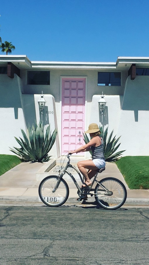 The pink house in Palm Springs | Scenes From a Weekend | Covet Living