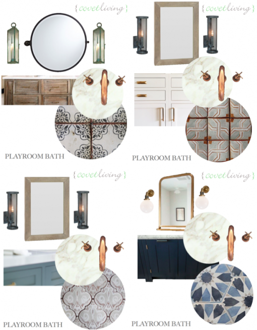 Playroom Bath | Covet Living Interiors
