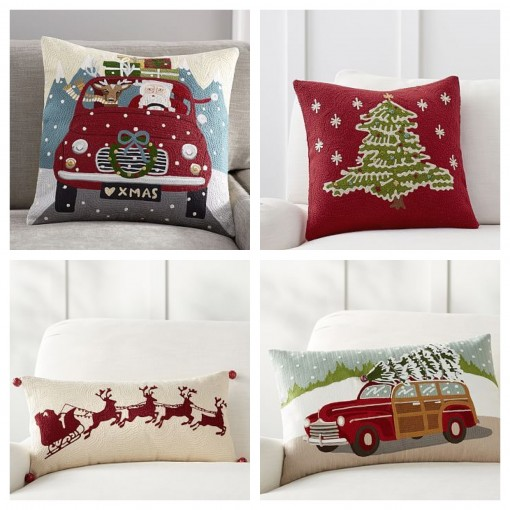 Pottery Barn Pillows | Covet Living Xmas Gift Guide