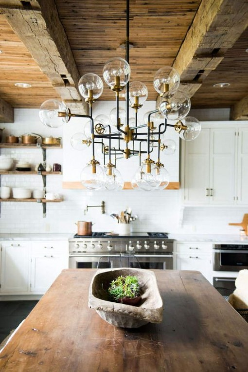bistro-chandelier-in-kitchen-covet-living