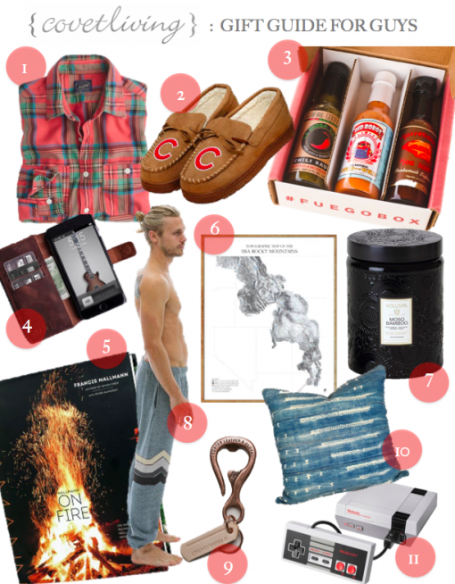 Covet Living | ULTIMATE GIFT GUIDE FOR GUYS 2016