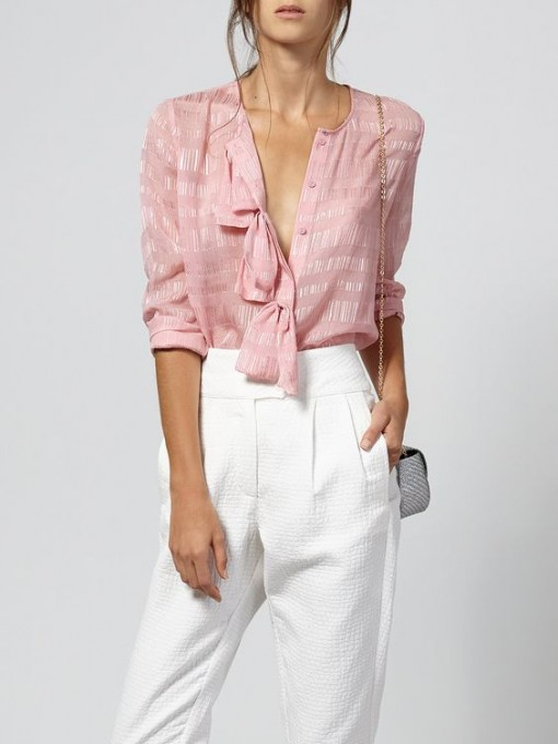 Pink Ruffle Top | Covet Living