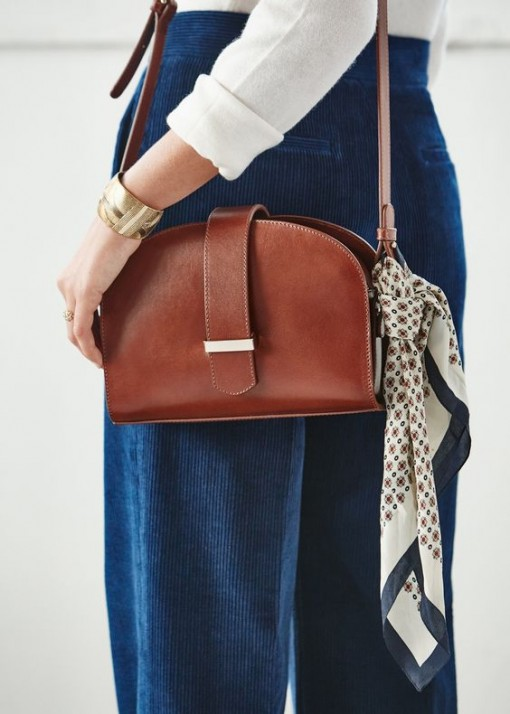 Sezane classic patty bag