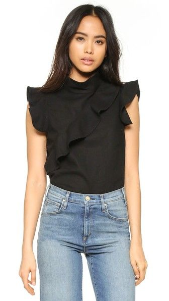 Sorbonne Ruffle Top | Covet Living