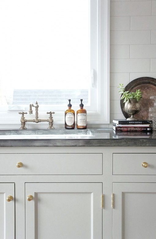 Zinc Countertop | Covet Living