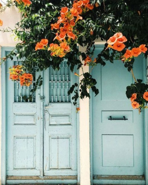 Blue Door sfgirlbybay | Covet Living