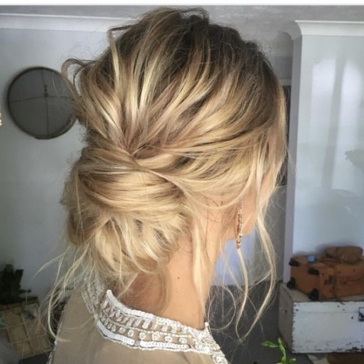 Messy Updo | Covet Living