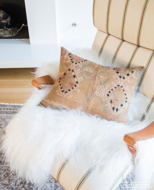 Peach Pillow, Amber Interiors | Covet Living