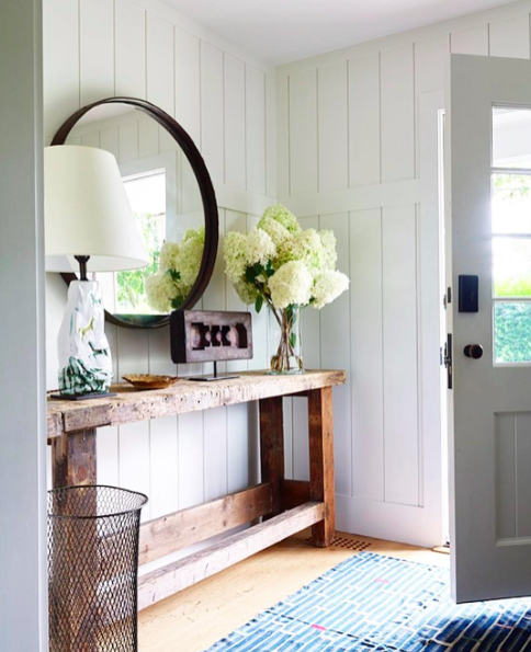 Beautiful Farmhouse Entry | Covet Living