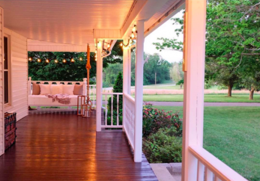 Farmhouse Porch | Covet Living